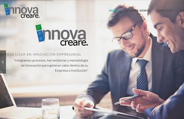 Lidersis Sitio Web Innovacreare